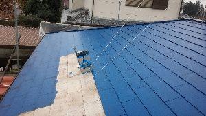 群馬県 前橋市 塗り替えリホーム 屋根上塗り