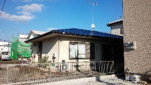 群馬県 前橋市 塗り替えリホーム 屋根上塗完了