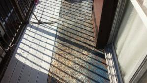 群馬 前橋 塗り替え 縞鋼板塗装 塗装前