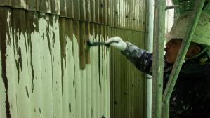 群馬県 前橋市 外壁塗装 外壁下塗り