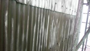 群馬県 前橋市 外壁塗装 外壁下塗り完成