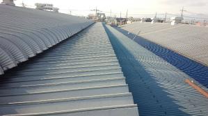 群馬県 前橋市 工場塗装 屋根塗装前