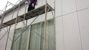 群馬 前橋 工場塗装 足場解体