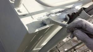 外壁塗装 工場塗装 ダクト塗装 上塗り作業