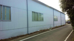 群馬 塗装 工場塗装 外壁塗装完成