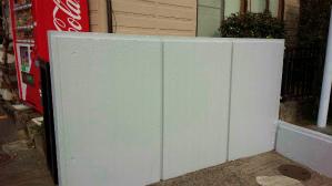 群馬 塗装 工場塗装 門扉塗装完成