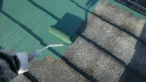 群馬 前橋 塗装 屋根 上塗り