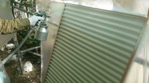 前橋 鶴が谷 塗り替えリフォーム 雨戸塗装