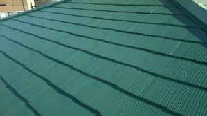 前橋 鶴が谷 屋根塗装 屋根完成