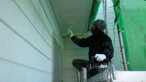 群馬 塗装 外壁塗り替え 軒天塗装