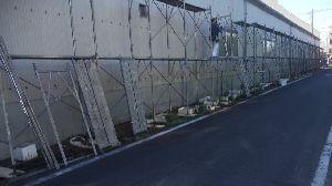 群馬県 前橋市 外壁塗装 足場組立作業