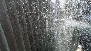 群馬県 前橋市 外壁塗装 外壁洗浄中