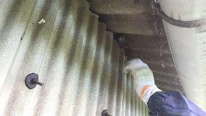 群馬県 前橋市 外壁塗装 軒下塗り作業
