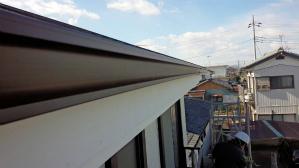 群馬 塗り替えリフォーム 雨樋取付工事
