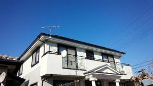 群馬 塗装 住宅リフォーム 雨樋取付完成