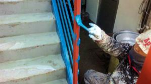群馬 前橋 塗装 階段塗装