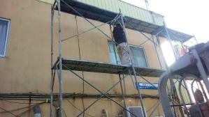 群馬 前橋 塗装 足場組立作業