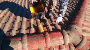 群馬 塗装 屋根塗装 下塗り