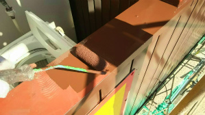 群馬 前橋 塗装 ベランダ手摺塗装