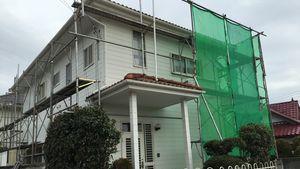 群馬 塗装 屋根塗装 足場組立