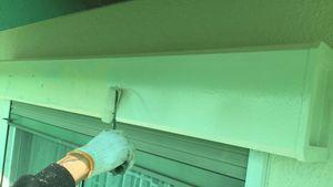 塗装 群馬 前橋 シャッターボックス塗装