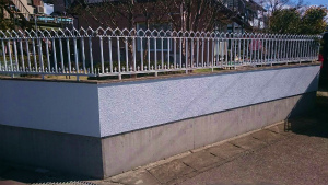 群馬 塗装 前橋 ブロック塀塗装完成
