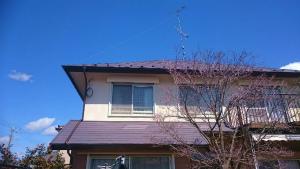 塗装 群馬 前橋 屋根塗装完成