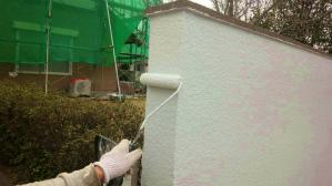 塗装 群馬 前橋 塀塗装