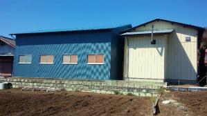 塗装 群馬 外壁リフォーム 倉庫塗装完成