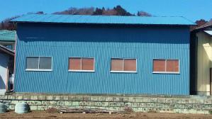 群馬 塗装 前橋 倉庫塗装完成