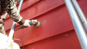 塗装 群馬 前橋 屋根ケレン