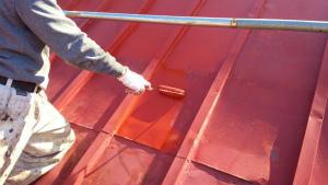 群馬 塗装 前橋 屋根サビ止塗装