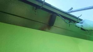群馬 塗装 前橋 破風板上塗り