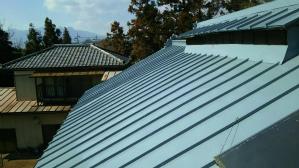 群馬 前橋 塗装 屋根塗装完成