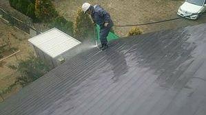 群馬 塗装 前橋 屋根洗浄
