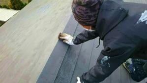 群馬 塗装 前橋 屋根ケレン