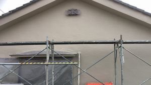 塗装 群馬 前橋 外壁塗装上塗り