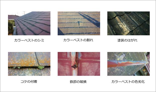 塗装 群馬 前橋 屋根塗装必要性写真