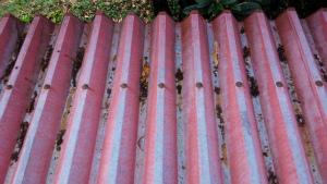 アサヒペイント 群馬 塗装 屋根清掃前