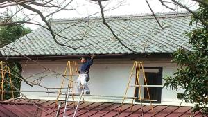 アサヒペイント 塗装 前橋 雨樋交換作業