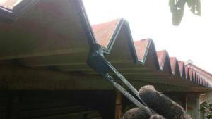 倉庫 屋根塗装 アサヒペイント 群馬