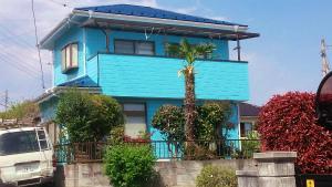 安中市原市A様邸 外壁・屋根塗装工事完成①