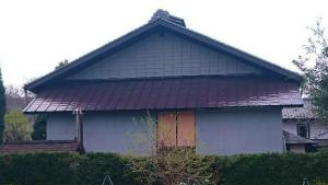 安中市嶺S様邸 屋根塗装工事完成