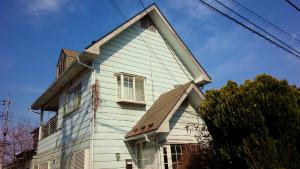 沼田市高橋場町O様邸 外壁・屋根塗装工事前