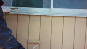 伊勢崎市市場町A様邸 外壁塗装上塗り