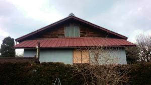 安中市嶺S様邸 屋根部分塗装工事前①