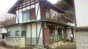昭和村糸井N様邸 部分塗装工事前①