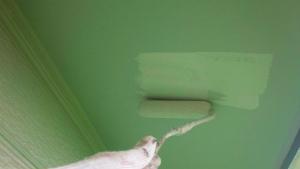 軒天塗装 アサヒペイント 群馬 外壁塗装