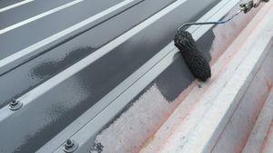 倉庫屋根塗装 アサヒペイント 群馬 塗替え