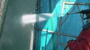 伊勢崎市市場町S様邸 外壁の高圧洗浄